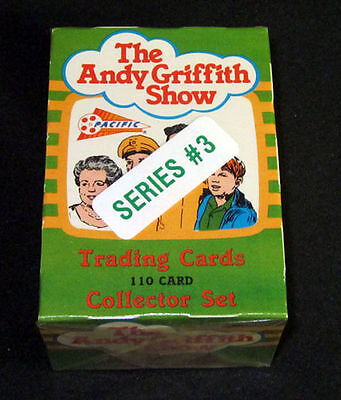 THE ANDY GRIFFITH SHOW SERIES 3 ~ Factory Set Box of (110) Trading Cards ~ 1991