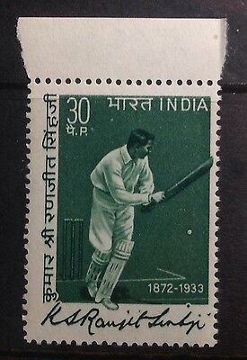 India 1973 Cricket Sg695 Unmounted. Mint