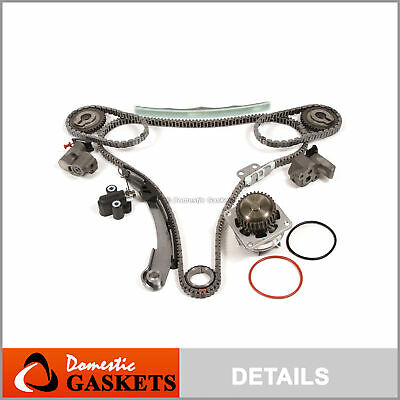 Fit 04-09 Nissan Quest Maxima Altima 3.5 DOHC Timing Chain Water Pump Kit VQ35DE
