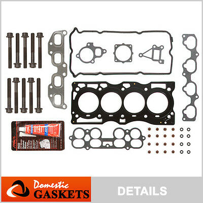 Fit 02-06 Nissan Altima Sentra SER 2.5L MLS Head Gasket Head Bolts Set QR25DE