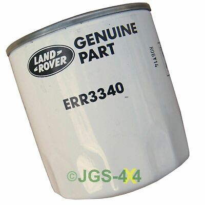 Land Rover Discovery, Defender, Range Rover Engine Oil Filter GENUINE - ERR3340