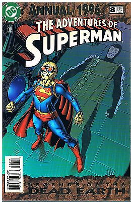 The Adventures of Superman Annual No.8 / 1996 Legends of the Death Earth