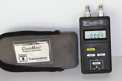 "Transmation Checkmate 600 Pressure Calibrator, ±10"" H20, 0.25% Accuracy"