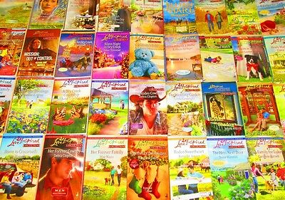 """LOVE INSPIRED """"LARGE PRINT"""" Paperback Book Lot """"INSTANT COLLECTION"""" Mixed Years"""