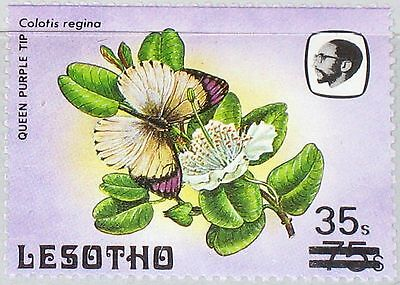 LESOTHO 1986 603 I Butterfly Schmetterling Fauna Insect Insekt ovp ÜD MNH