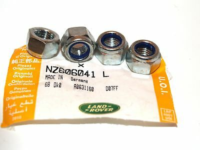 Genuine Pack of 4 Prop Shaft Bolt 3/8UNF Lock Nuts(NZ606041L-D)
