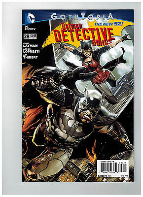 DETECTIVE COMICS Batman #28  1st Printing - Gothtopia - The New 52!    / 2014 DC