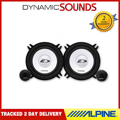 "Alpine SXE-1350S 5-1/4""(13cm) Component 2-Way Car Speakers 250W"