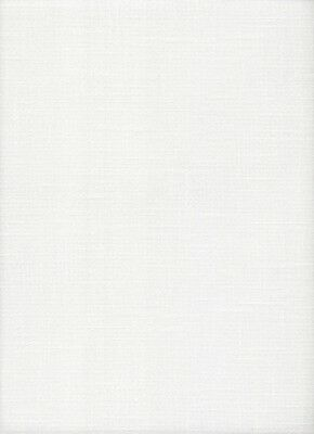 25 count Zweigart Colmar Evenweave Cross Stitch Fabric Antique White - 49x90cm