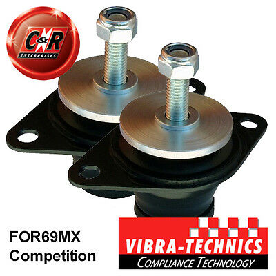 2x Ford Escort MK3 Vibra Technics Gearbox Mounts Competition FOR69MX