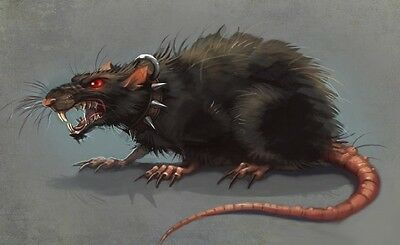 The Evil Rat Cross Stitch Chart Bn!