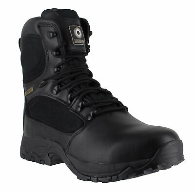 Mens Lambretta Military Combat Safety S3 WaterProof Lace Up Boots Sizes 6 to 12