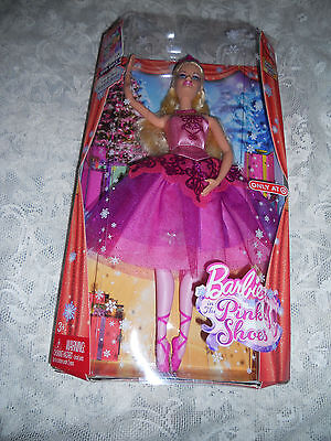 NIB BARBIE IN THE PINK SHOES AS SUGAR PLUM FAIRY  LAND OF SWEETS