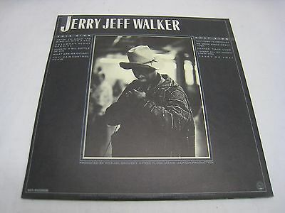 JERRY JEFF WALKER RECORD  CONTRARY TO ORDINARY MCA 3041  *GREAT  SHAPE* (R305)