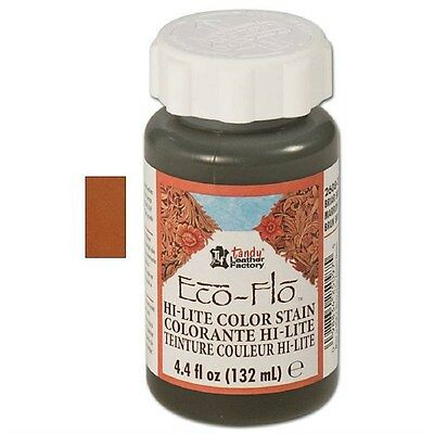 Eco-Flo Hi-Lite Saddle Tan Stain 4oz. 2608-05 by Tandy Leather