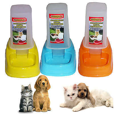 Automatic Pet Feeder Cat Dog Rabbit Food Water Bowl Dispenser Easy Clean Travel