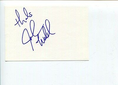 John Walsh America's Most Wanted Host Code Adam Signed Autograph