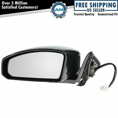 Mirror Power Black Driver Side Left LH for 03-07 Honda Accord Coupe NEW
