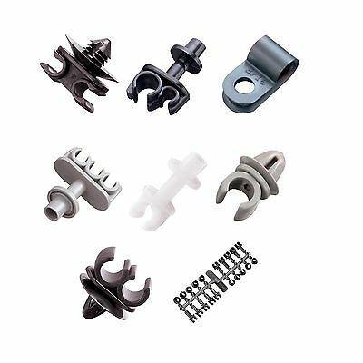 Automec Universal Race/Racing/Rally/Motorsport/Kit Car Brake Pipe Chassis Clips