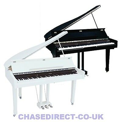Chase Digital Electric Concert Grand Piano CDP-723 In High Gloss Polished Finish
