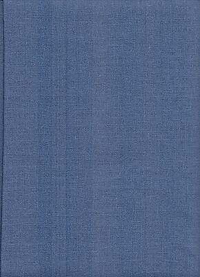 28 count Zweigart Cashel Linen Cross Stitch Fabric FQ 49 x 70cms Blue Spruce
