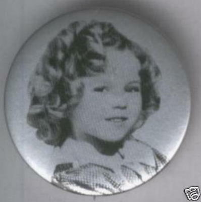 Shirley Temple Pin 1.75""