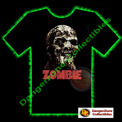 Zombie Horror T-Shirt by Fright Rags (Extra Large) - NEW