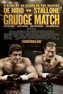Grudge Match - original DS movie poster - 27x40 D/S - Deniro , Stallone FINAL