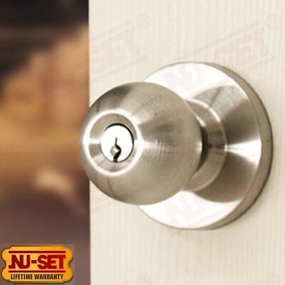 Standard Duty Commercial Grade 2 Entry Knob Lock with Schlage SC4 Keyway