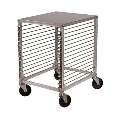 Winco Counter Height 15-Tier Pan Rack W/ Stainless Steel Top ALRK-15