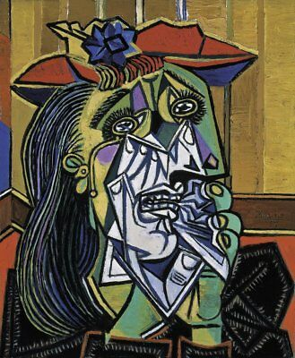 Weeping Woman, 1937 by Pablo Picasso Art Print Cubism Poster 11x14