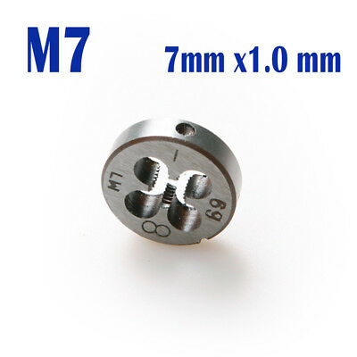 1pcs Alloy Tool Steel M7 x 1.0 Metric Thread Die 7mm X 1.0mm Hand Tap