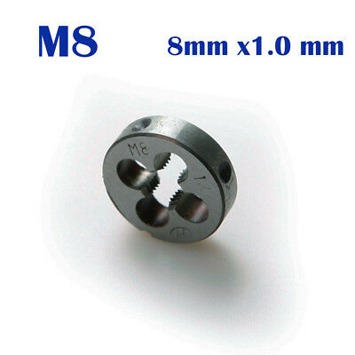 M8 x 1.0 Metric Thread Die M8 X 1.0mm Wrench Hand Tap for Engineers Mold Machine