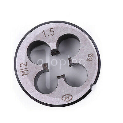 M12 x 1.5mm Metric Threading Die Right Hand 12mm x1.5mm Thread Pitch Tap Die
