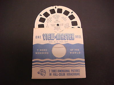 Sawyer's Viewmaster Reel,1946,Toronto Ontario Canada Queens Park Parliment #376