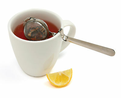 Norpro 5516 Mesh Tea Ball Infuser With Cup Rest Handle