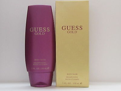 Guess Gold By Guess For Women 5 oz Perfumed Body Wash Gel New In Box Sealed