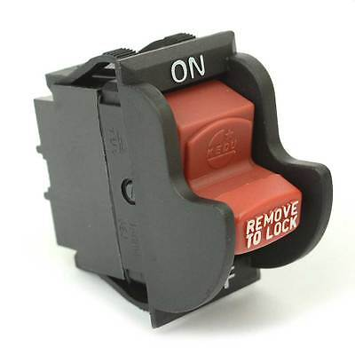 On-Off Toggle Switch rep Delta 489105-00 1343758 (Optional Lock) Ryobi - SW7B
