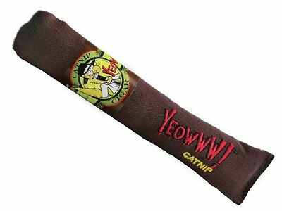 Yeowww Catnip Cat Toy Cigar Original Brown 63072