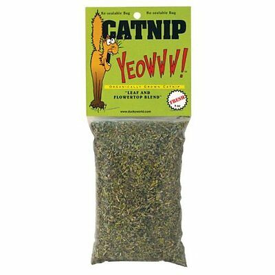 Yeowww catnip bag 1oz - use for refilling cat toys - scratching posts etc 63010