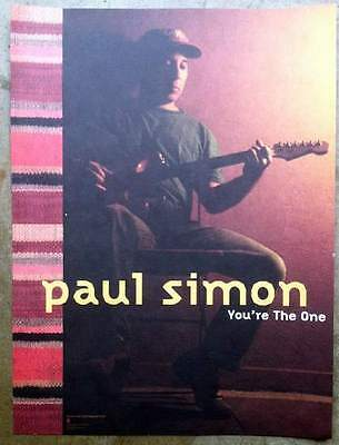 PAUL SIMON You're the One 18x24 Promo Poster NM