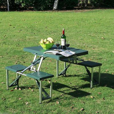 Outsunny Folding Picnic Table Chair Outdoor Seating Junior Portable Bench