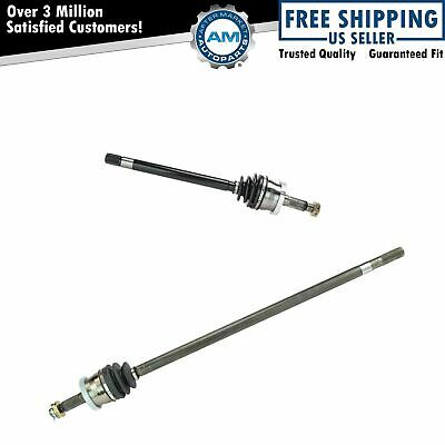 Front CV Joint Axle Shaft Pair Set for 99-04 Grand Cherokee w/ Quadra Drive 4WD