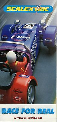 "Scalextric ""Race For Real"" Leaflet - Issue Number Unknown"