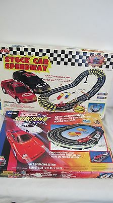 Artin Stock Car Speedway Monte Carlo Slot Cars Racing Action