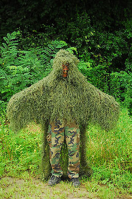 Synthetic Ghillie Stalker suit - Leafy Green