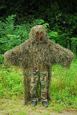 Synthetic Ghillie Stalker suit - Woodland Color