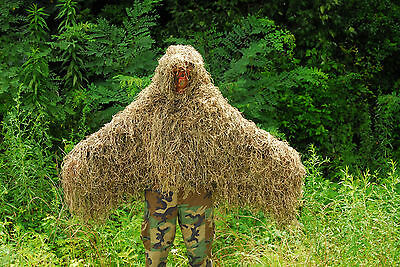 Synthetic Ghillie Tracker suit - Mossy color