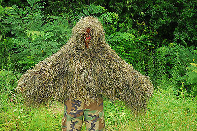 Synthetic Ghillie Tracker suit - Woodland color