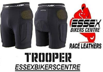 Knox Ce Motorcycle Trooper Protection Shorts With Hip Armour - Thigh Pads
